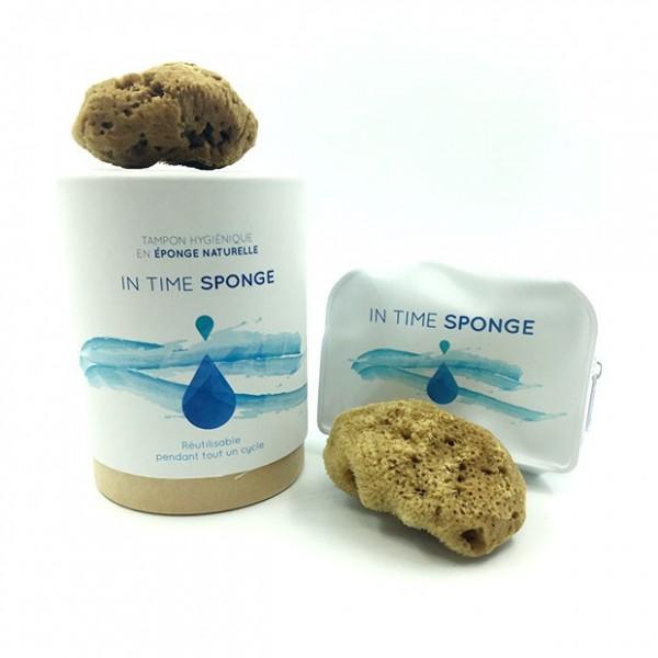 Tampon menstruel en éponge maritime et naturelle - In Time Sponge