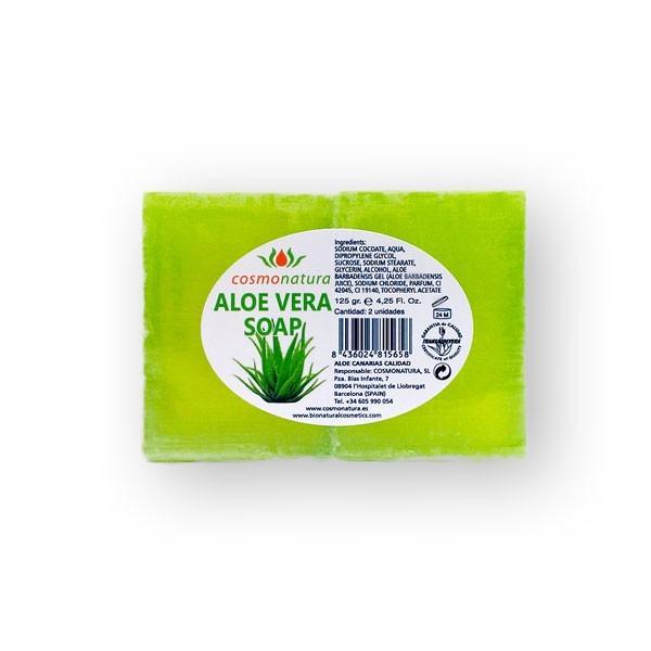Savon à l'Aloe Vera pour corps et visage