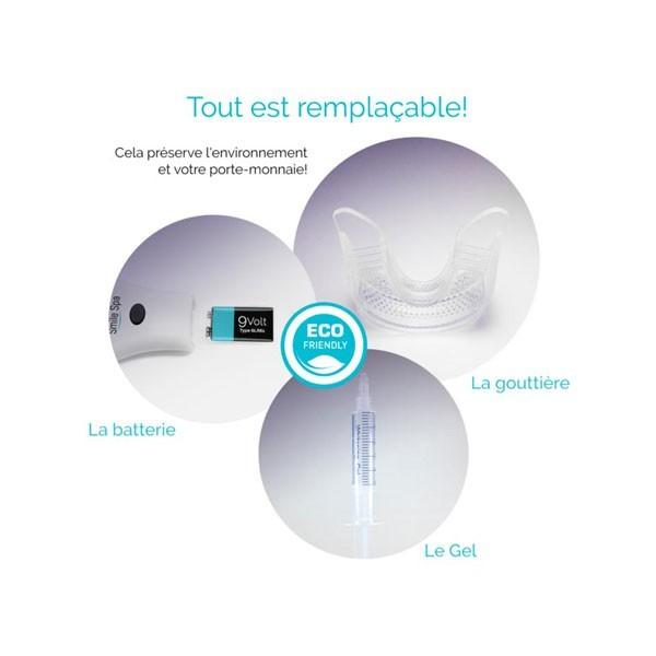 Whitening Teeth Kit even for Sensitive Teeth - Smile Spa