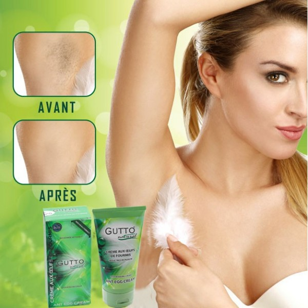 Ant eggs cream 150 ml, GUTTO, hairiness reductor