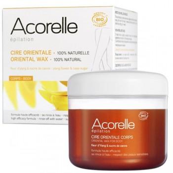 Organic oriental sugar wax with ylang-ylang and sugar cane - Acorelle