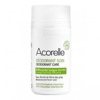 Organic roll-on deodorant with alum crystals - Acorelle