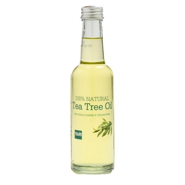 Huile d'Arbre à Thé, naturelle, pour boutons et acné 250 ml - Yari