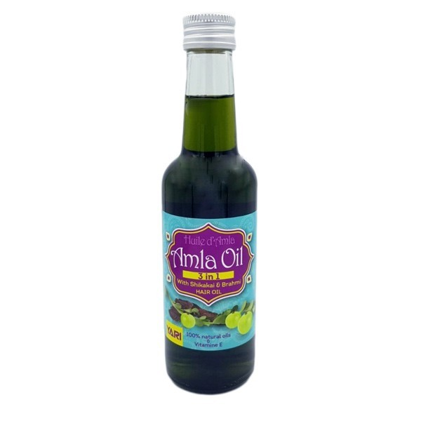 Amla, Shikakai, Brahmi oil for hair growth 250 ml - Yari