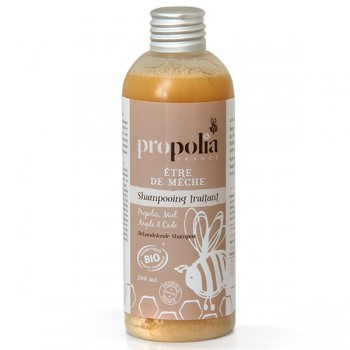 Organic treating shampoo - Propolis/Honey/Clay/Cade - Propolia