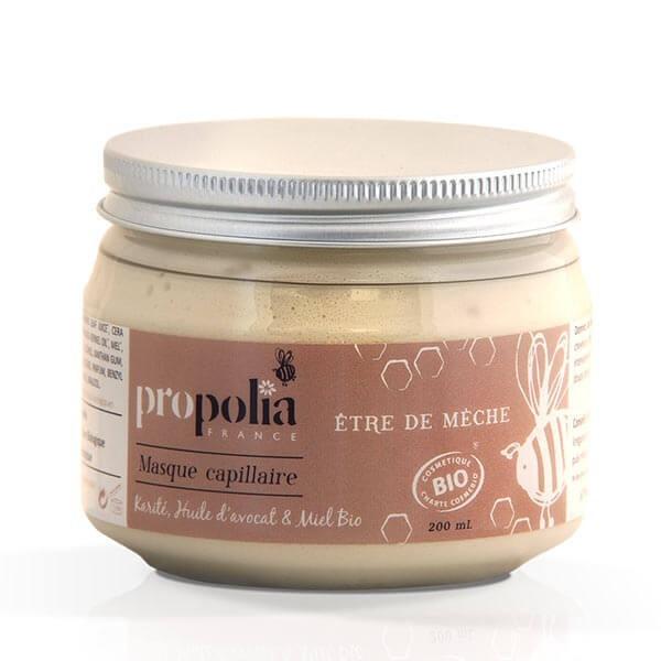 Organic capillary mask - Shea butter/Avocado/Honey - Propolia