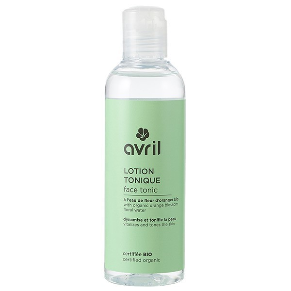 Organic tonic lotion with sweet almond and orange blossom - Avril