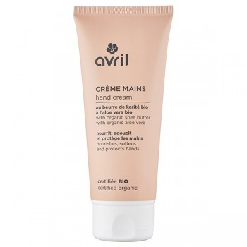Organic Hand / Nail Cream - Shea Butter/ Sea Buckthorn/ Cranberry - Avril