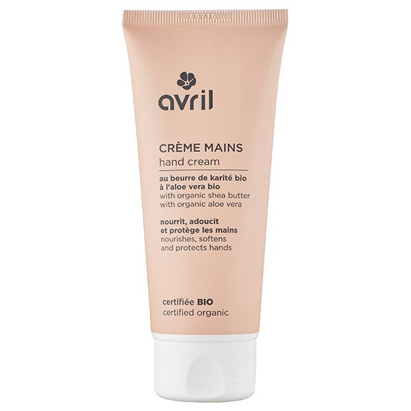 Crème pour les mains bio - Avril