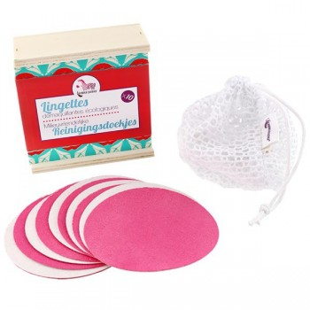 Reusable Makeup Remover Pads Set - Lamazuna