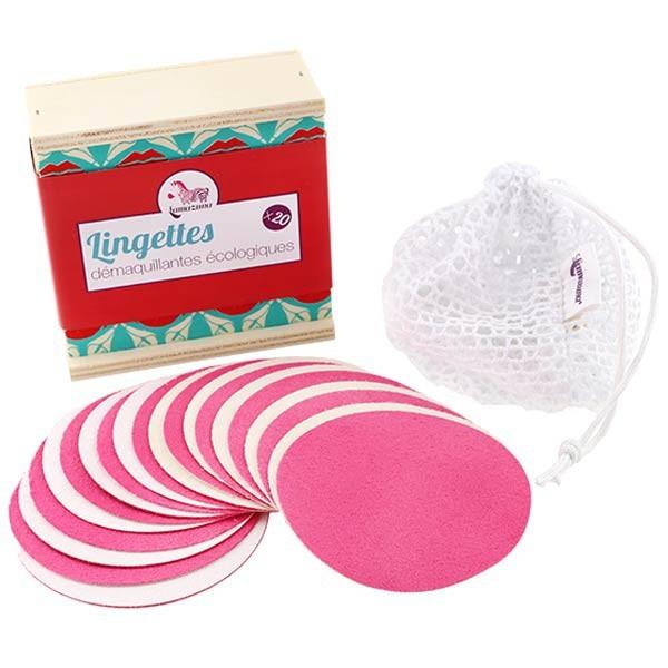Reusable makeup remover pads, 10 pads set - Lamzuna