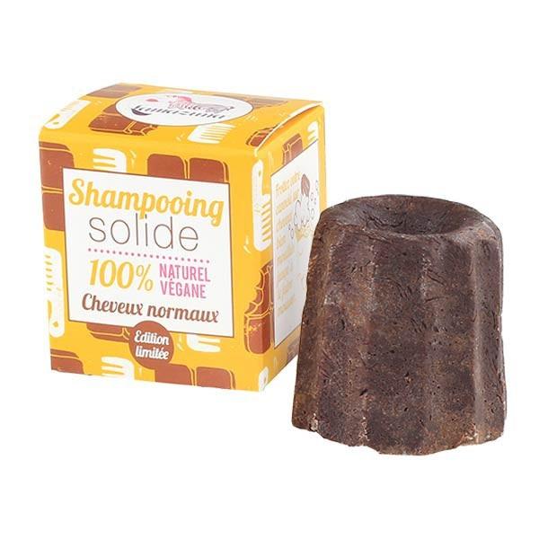 Vegan and natural solid shampoo for greasy hair - Lamazuna