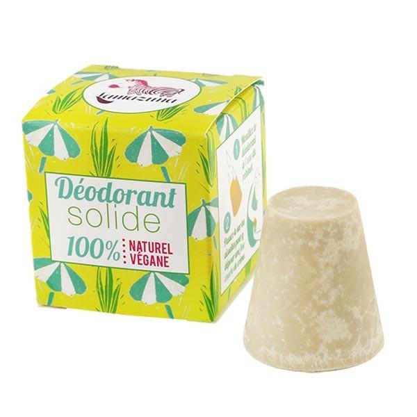 Déodorant solide vegan à l'huile essentielle de Palmarosa - Lamazuna