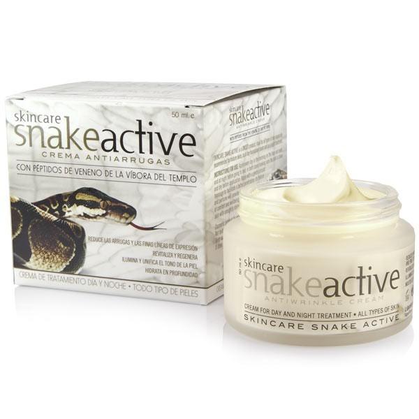 Crème anti-rides à base de venin de serpent - Skincare Snake Active