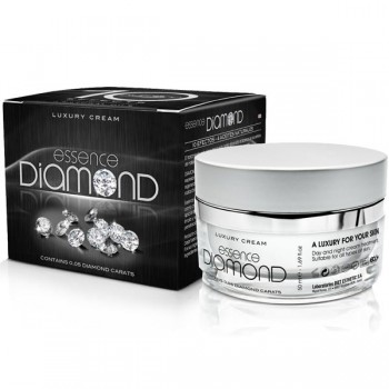Organic Diamond Cream 0.05 carats - 10 effects - Luxury Cream