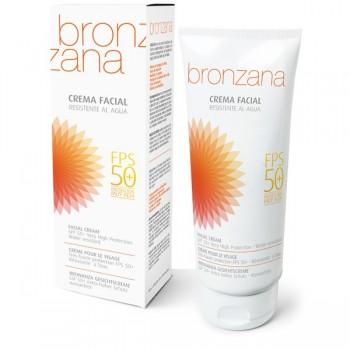 UV Protection Facial Cream SPF 50, Tan Activator - Bronzana