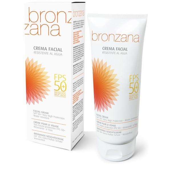 UV Protection Facial Cream SPF50 Tan Activator - Bronzana