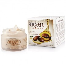 Organic Argan Oil Cream - Repairing Skin - Argan Oil Essence