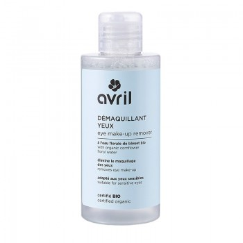 Organic makeup remover for sensitive eyes - Avril
