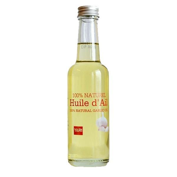 Huile d'Ail, naturelle, pour la repousse des cheveux 250 ml - Yari