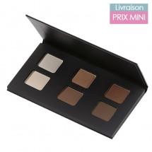 Organic 6 Eyeshadow Palette - Nude or Smoky makeup looks - Avril