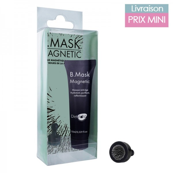 Charcoal Magnetic Mask and Dead Sea Mud - DietWorld