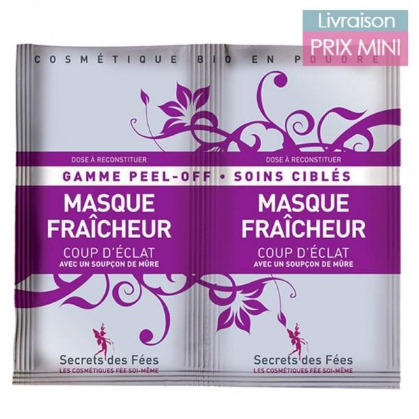 Masque Peel Off Fraîcheur - Secrets des Fées