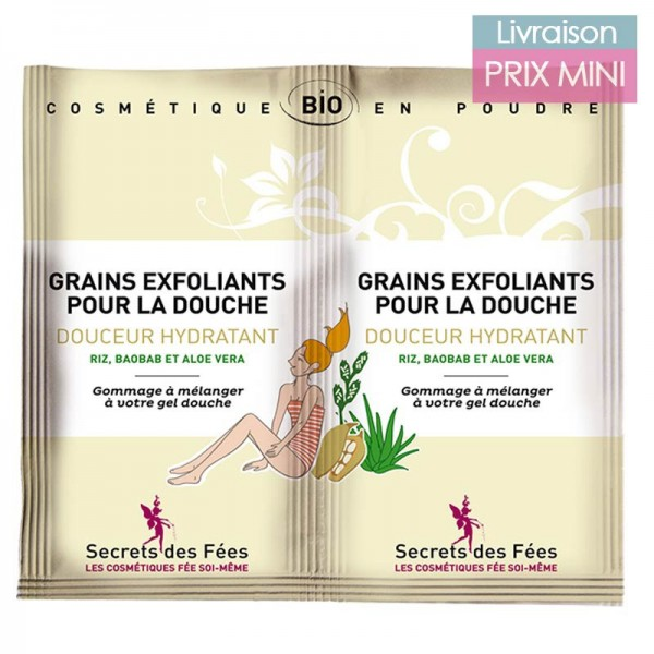 Organic hydrating body scrub - Secrets des Fées