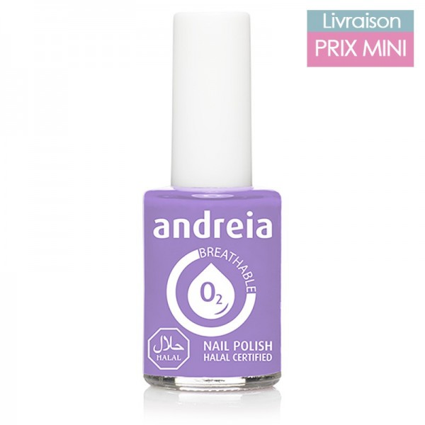Vernis à ongles Andreia B01 Mauve
