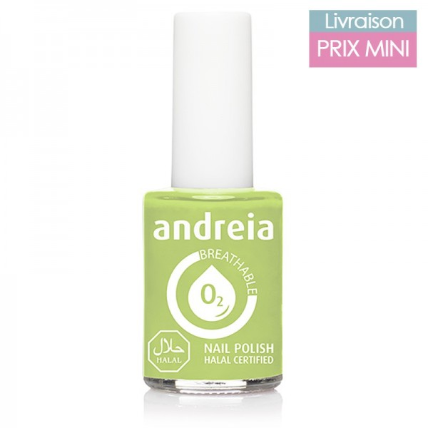 Vernis à ongles Andreia B04 Vert Pastel