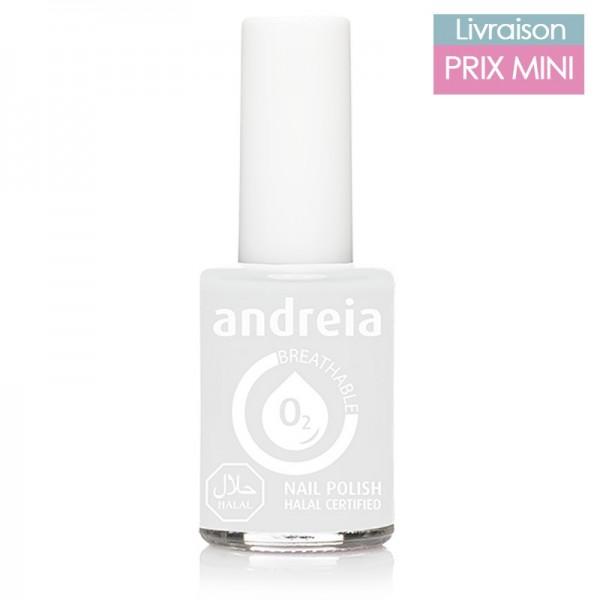 Vernis à ongles Andreia B20 Blanc French