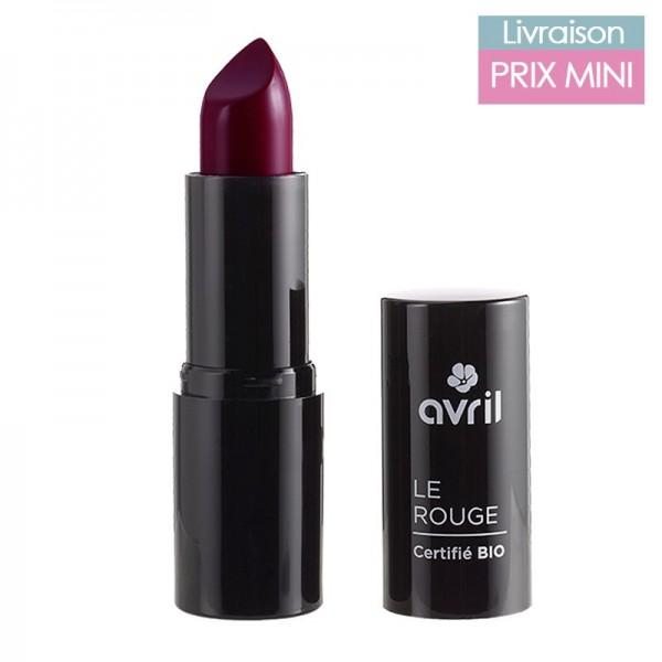 Rouge à lèvres bio, Grenat - Avril