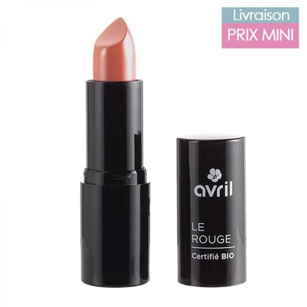 Rouge à lèvres bio, Corail - Avril