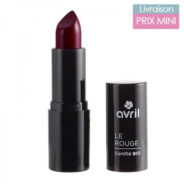 Rouge à lèvres bio, Cerise burlat - Avril