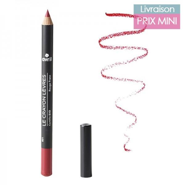 Crayons contour des lèvres bio, Nude - Avril
