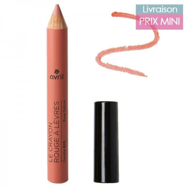 Crayon Jumbo Rouge à Lèvres, Rose Délicat - Avril