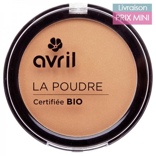 Poudre compacte bio, Abricot - Avril