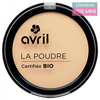 Organic Compact Powder - Pomegrenate Extract - Avril