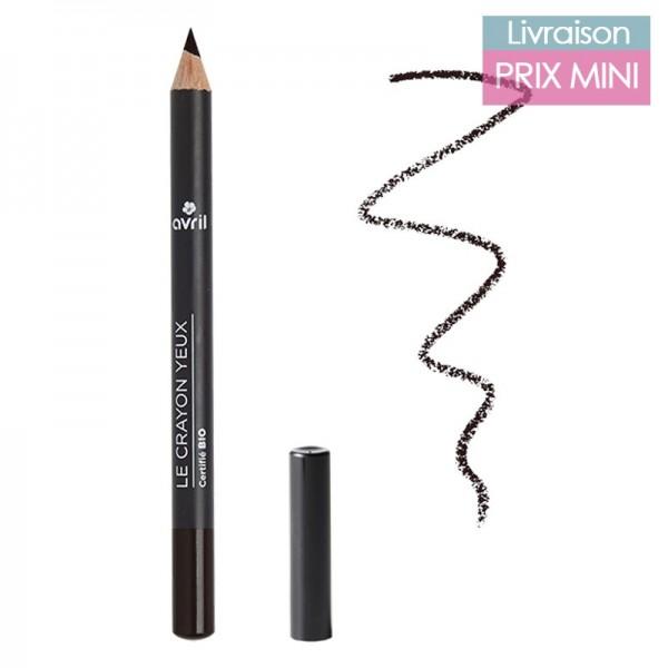 Crayon pour les yeux couleur bio, Charbon - Avril