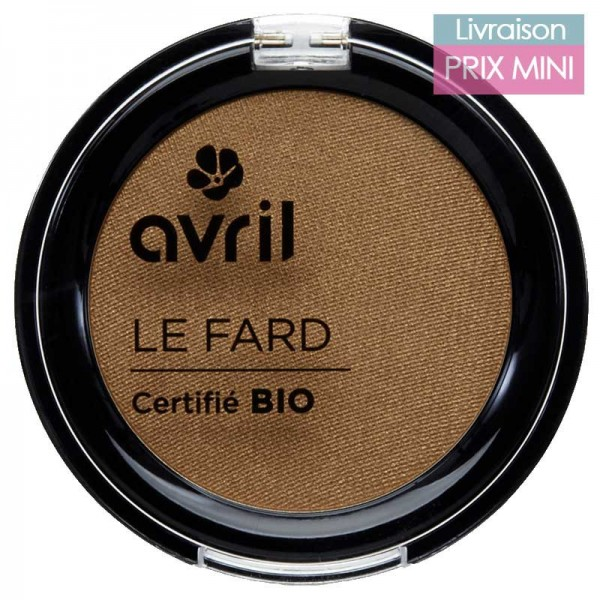 Organic Eyeshadow - Iridescent/ Matte - Avril