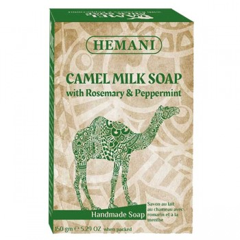 Soap with Chamele Milk, Rosemary and Peppermint - Hemani