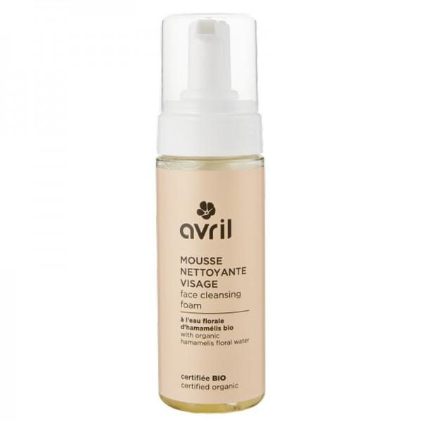 Organic face cleansing foam - Avril