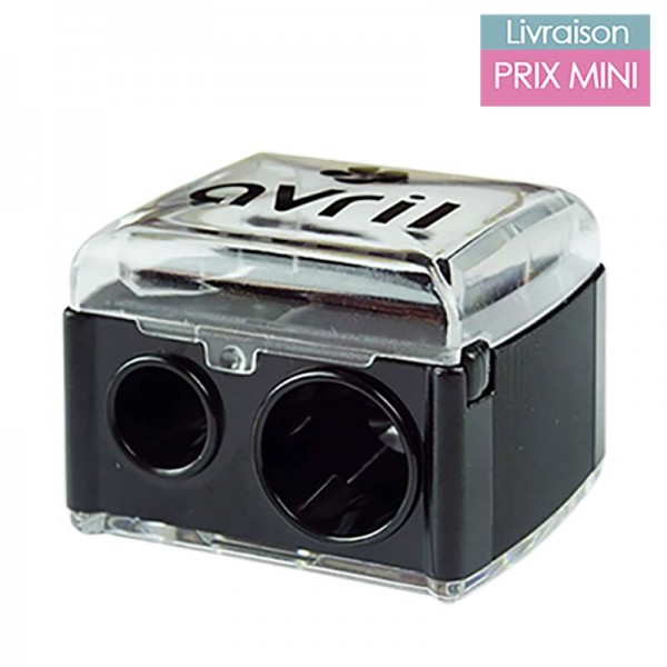 Makeup Sharpener with Double Hole and Inner Casing - Ocean