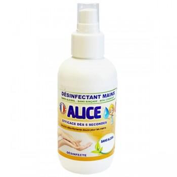 Spray désinfectant sans alcool, pour les Mains - Alice
