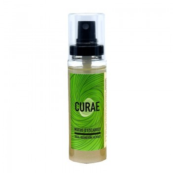Mucus d'escargot pur (bave - sécrétion naturelle) 60 ml - Curae