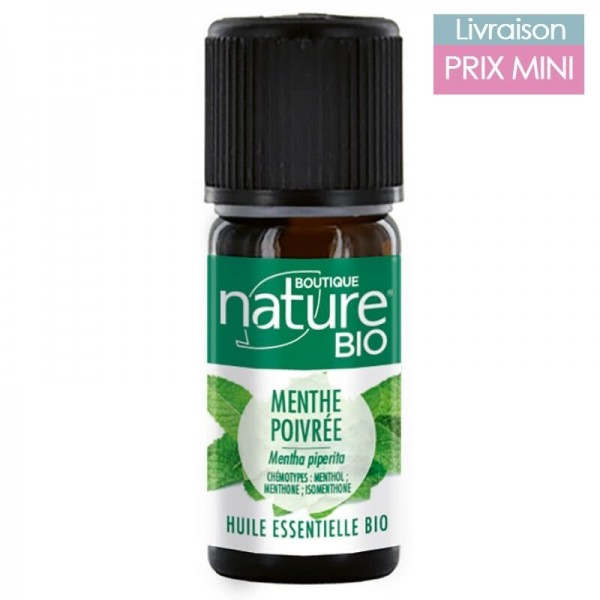 Organic Pepper Mint Essential Oil