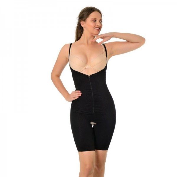 Body sculpting and slimming with zip