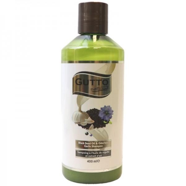 Shampoo with garlic and nigella oil - Gutto Natural