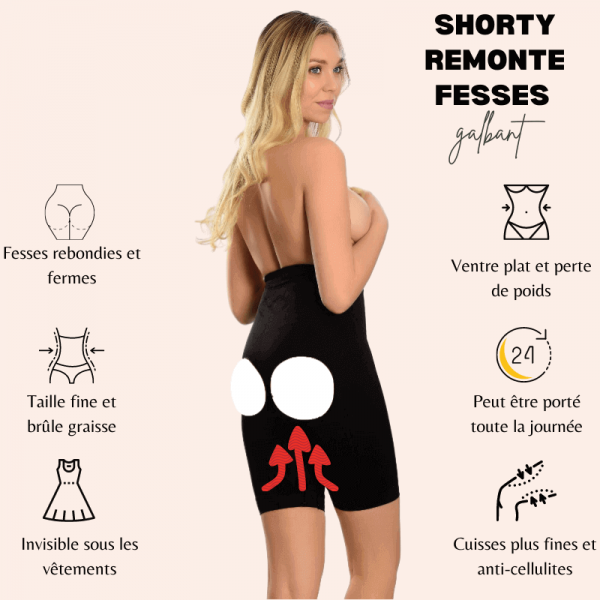 Shaping buttock shorts