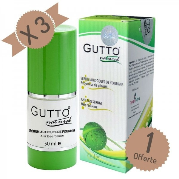 SPECIAL DISCOUNT 3+1 : Buy 3 Gutto Oils 50 ml, get 1 FREE (ant eggs oils)